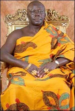 Otumfuo steals show at Kumasi celebrations